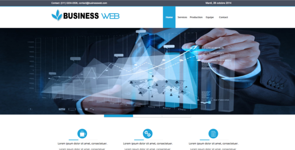 Template Business Webacappella