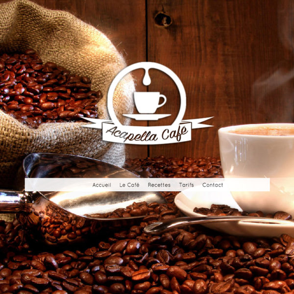 Template café du web Webacappella
