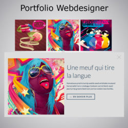 Crazy Portfolio Webacappella