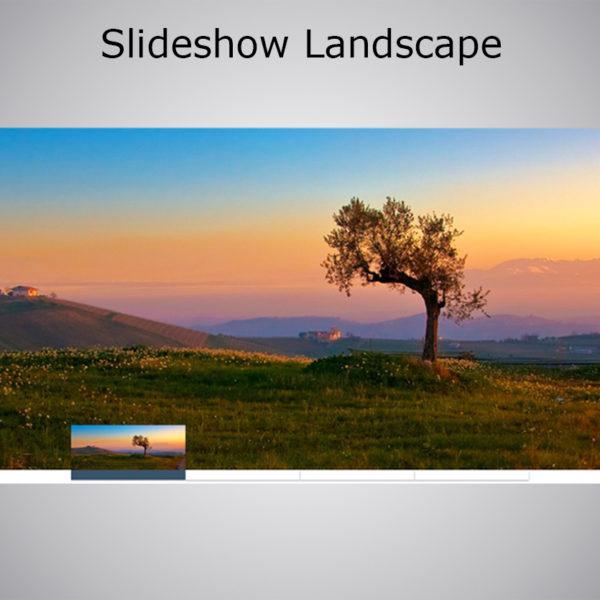 Slideshow Landscape WebAcappella