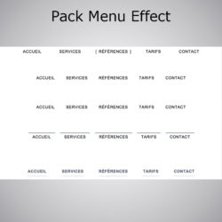 Pack Menu Effect WebAcappella