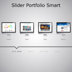 Slider WebAcappella Portfolio Smart