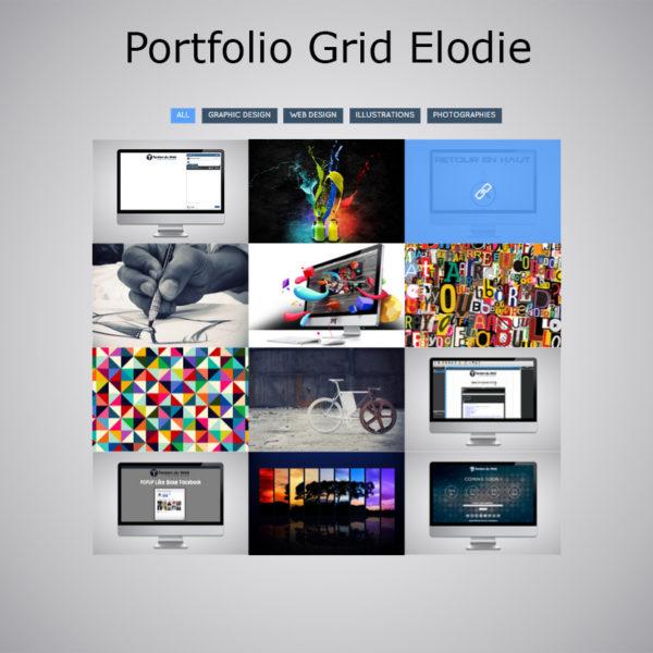 Plugin Portfolio Grid Elodie