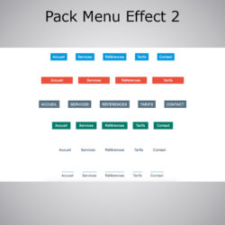 Pack Menu Effect WebAcappella 2