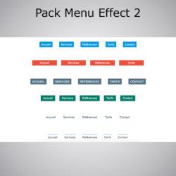 Pack Menu Effect WebAcappella 2