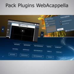 Pack Plugin WebAcappella