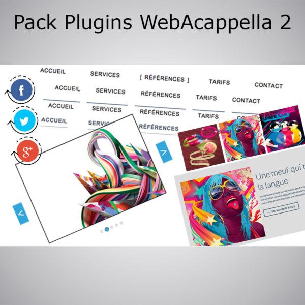 Pack Plugin WebAcappella 2