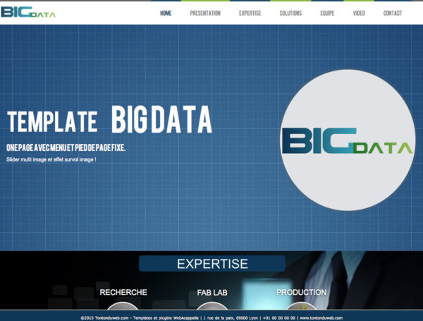 Template Big Data WebAcappella