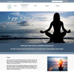 Template Yoga WebAcappella