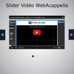 Slider Vidéo WebAcappella