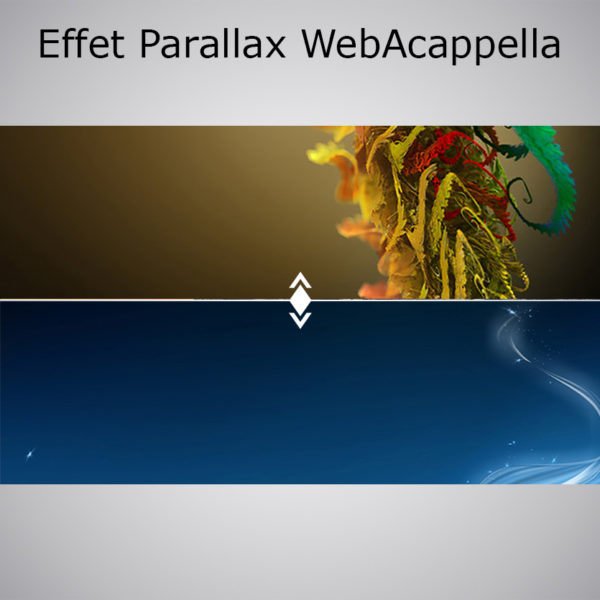 Effet Parallax WebAcappella