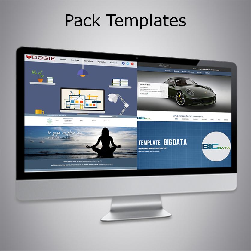 Pack Templates WebAcappella 4 - Tonton du Web