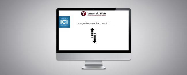 Image fixe dans WebAcappella Responsive
