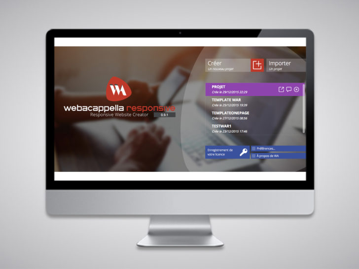 WebAcappella Responsive Creator Beta