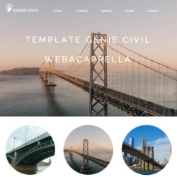 Template Génie Civil WebAcappella