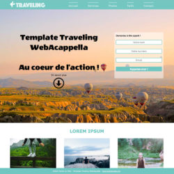 Template Traveling WebAcappella