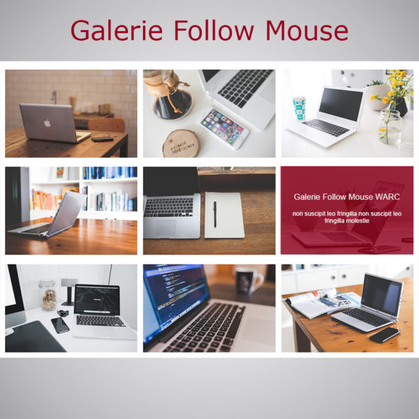 Plugin Galerie Follow Mouse WARC