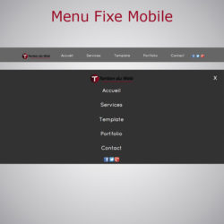 Menu Fixe Mobile WARC