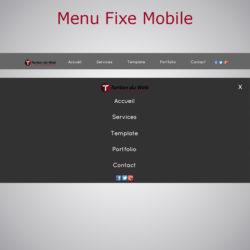 Menu Fixe Mobile WARC