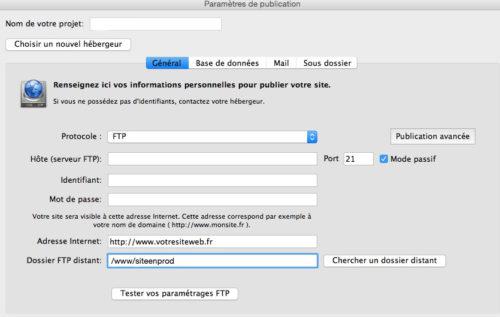 Cacher son site WebAcappella pendant son développement