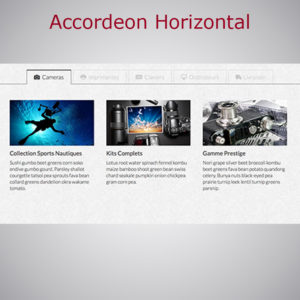 Accordéon Horizontal WARC