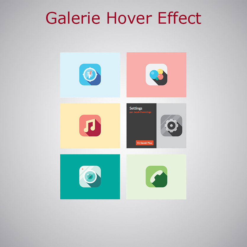 Galerie Hover Effect WARC