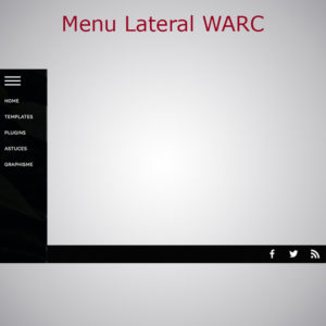 Plugin Menu Lateral