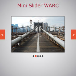 Mini Slider WARC