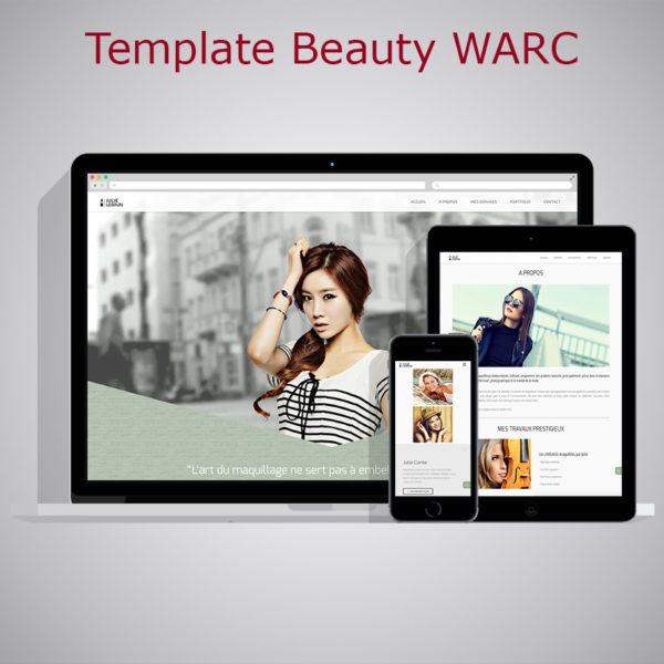 Template Beauty WARC