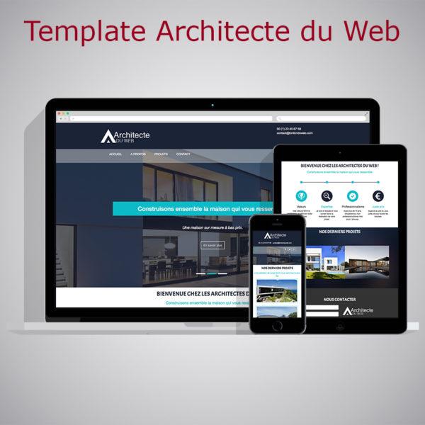 Template Architecte du Web