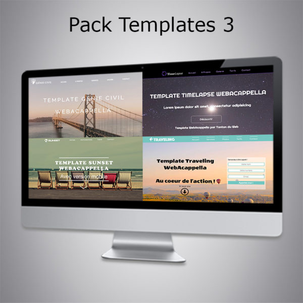Pack Template 3 WebAcappella
