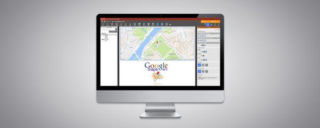 Clé API Google Maps dans WebAcappella Responsive
