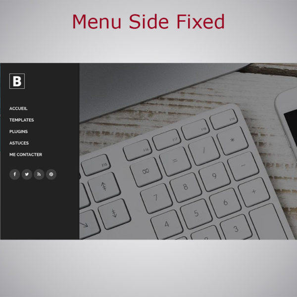 Menu Side Fixed WARC