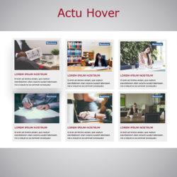 Plugin Actu Hover WARC