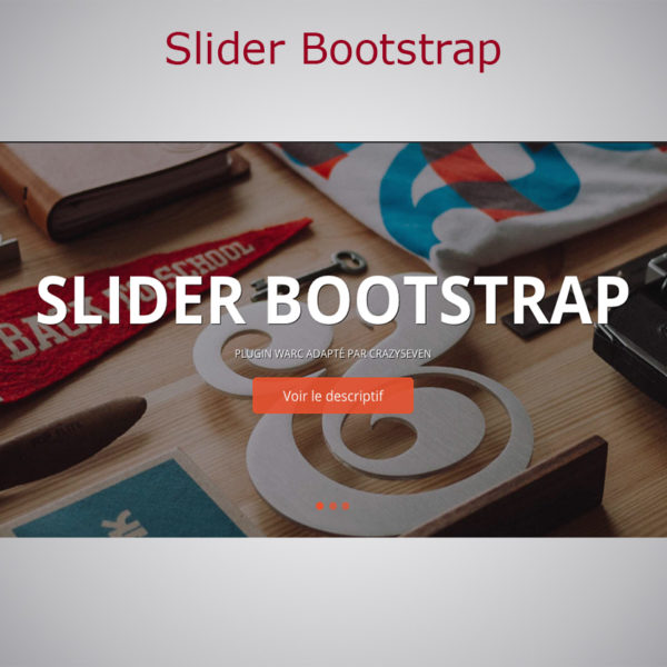 Plugin Slider Bootstrap