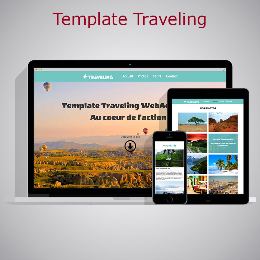 Template Traveling WARC