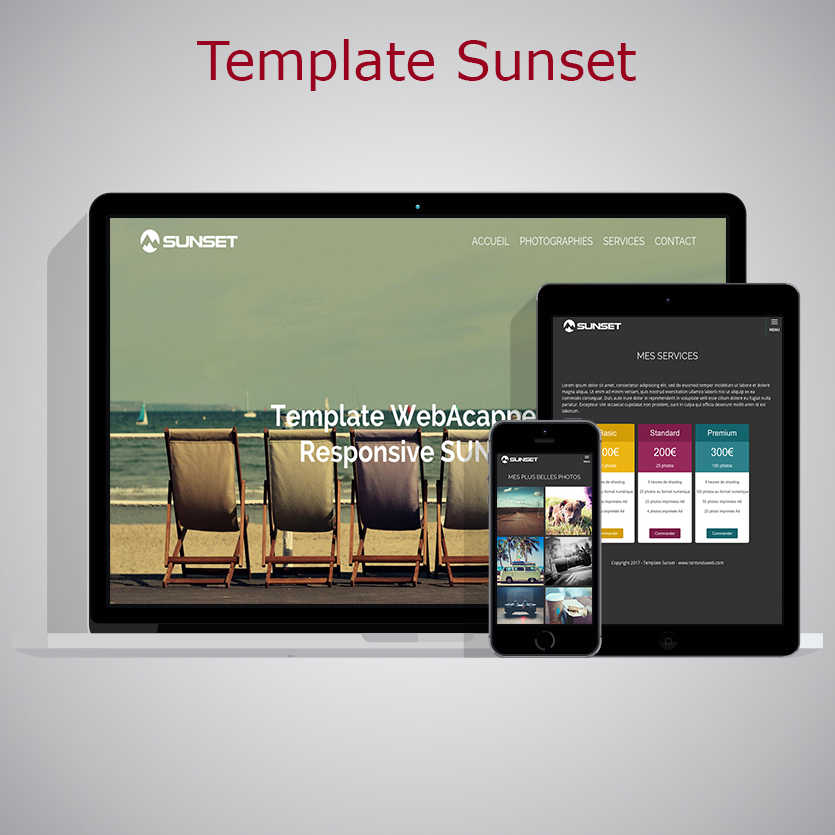Template Sunset WARC