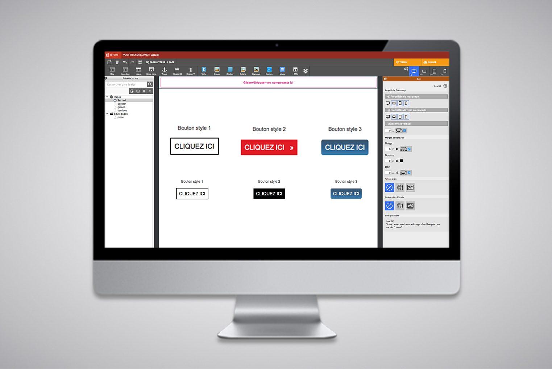 Ajouter un bouton cliquable au design sympa dans WARC