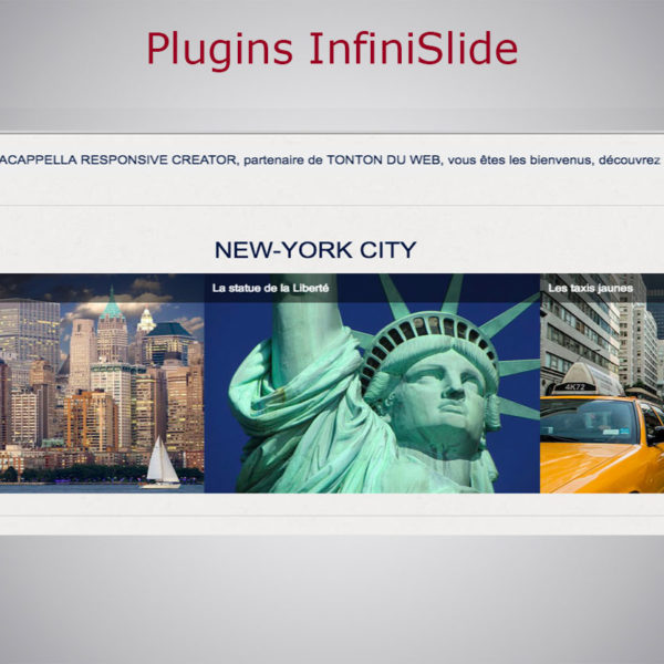 Pack plugins Infini Slide WARC