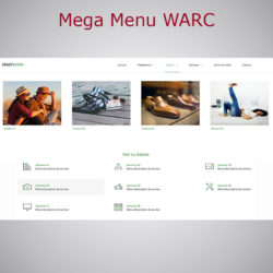 Mega Menu WARC