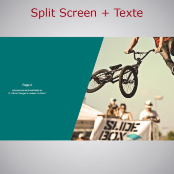 Split Screen WebAcappella Responsive