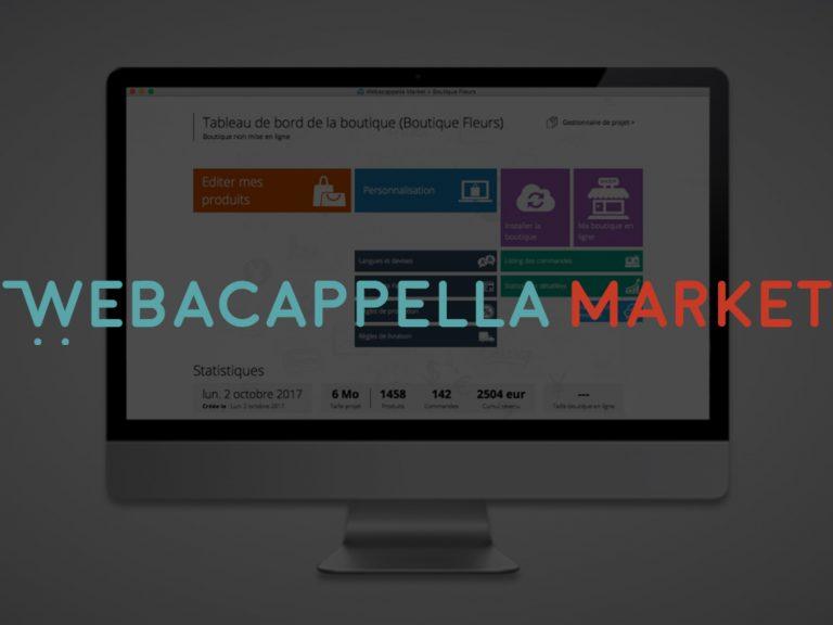 Arrivée prochaine de WebAcappella Market