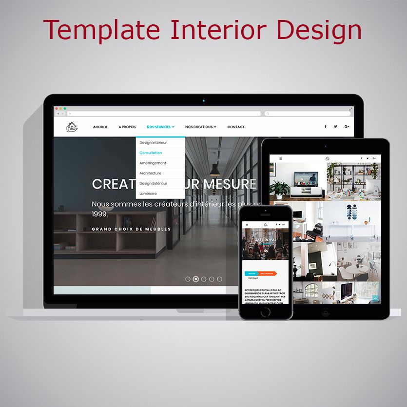 Template Interior Design Warc Tonton Du Web