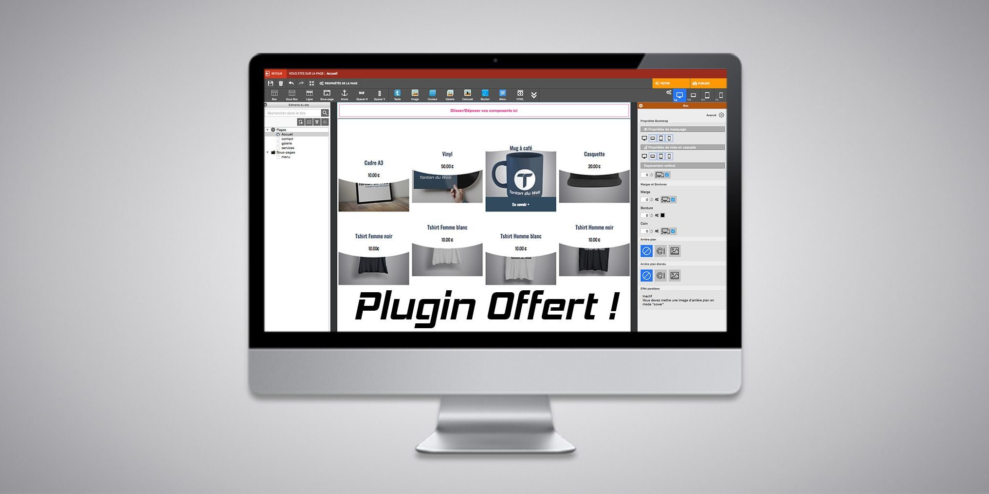 Mise en avant des produits WA Market : plugin offert !