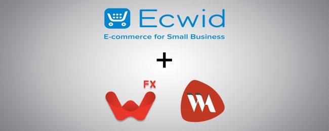 Création d'une boutique en ligne avec Ecwid et WebAcappella